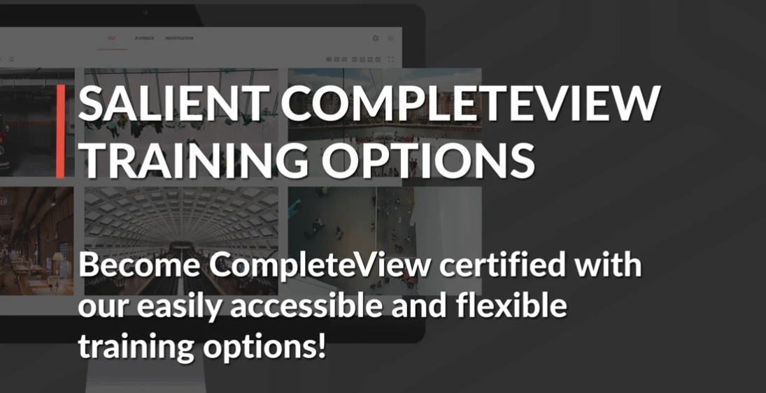 poster image for CompleteView Training Options video