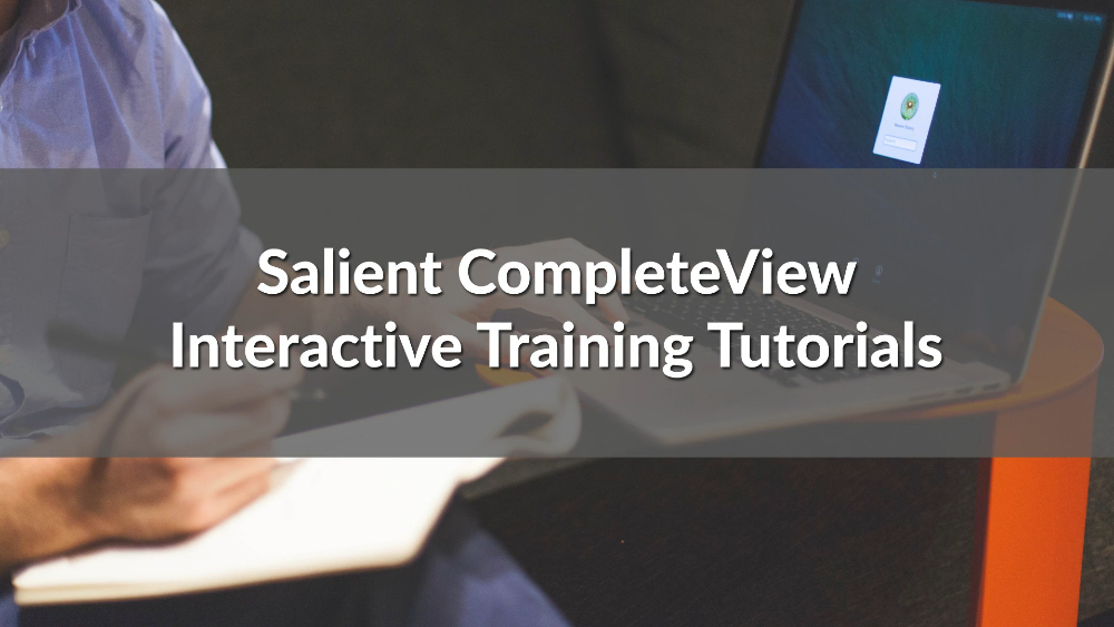 poster image for CompleteView VMS Interactive Training Tutorials video
