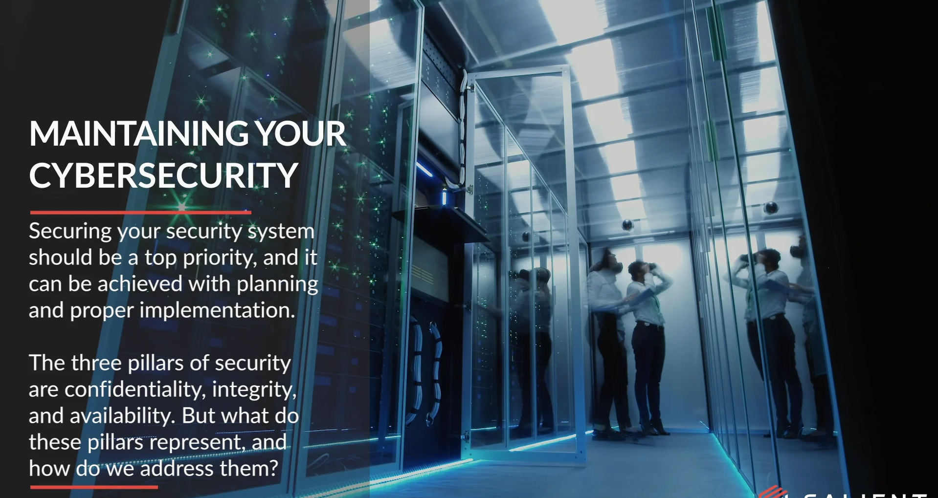 poster image for Maintaining Your Cybersecurity video