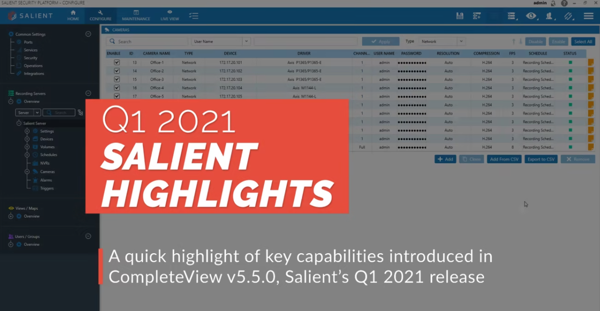 poster image for Q1 2021 Salient Highlights video