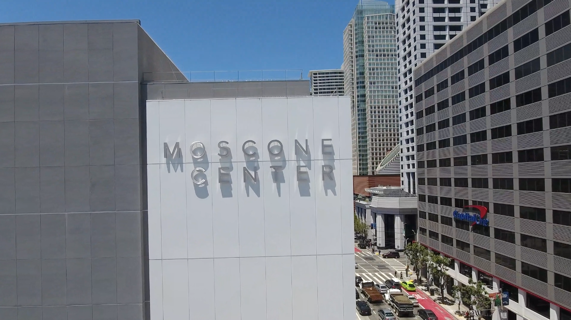 poster image for Bigger is Getting Better :: Moscone Center video
